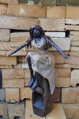[296s Creations by Irma Paverpol statue sculpture]